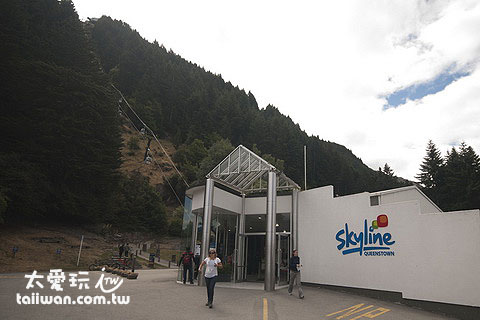 皇后鎮Skyline纜車站