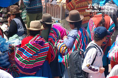 秘魯仍保有濃厚的南美原住民文化