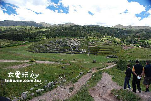 Saqsaywaman現存的地基