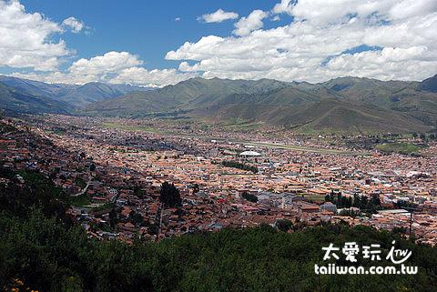 俯視 Cusco 市區