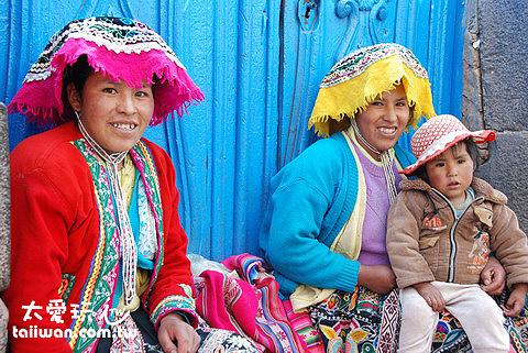 南美原住民傳統服裝