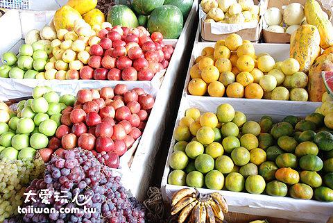 中央市場水果攤