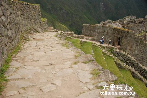 進入馬丘比丘(Machu Picchu)遺跡