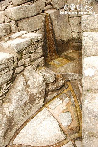 馬丘比丘(Machu Picchu)供水系統非常便利