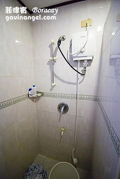 Shower有點糟糕