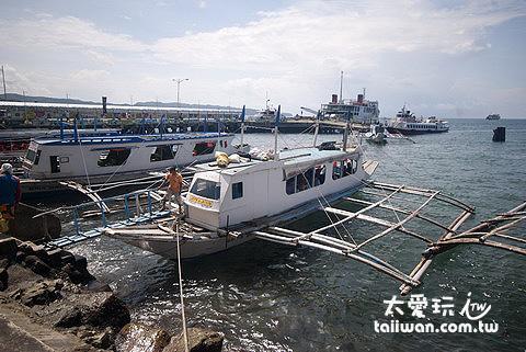 搭螃蟹船每人25P