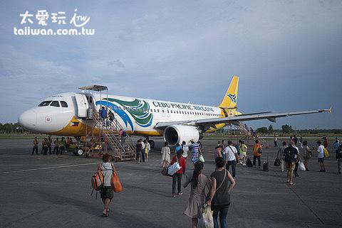 卡利波機場可以起降大型客機