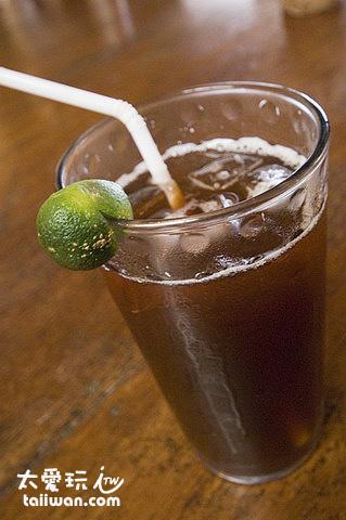 Nigi Nigi Nu Noos餐廳檸檬紅茶很甜