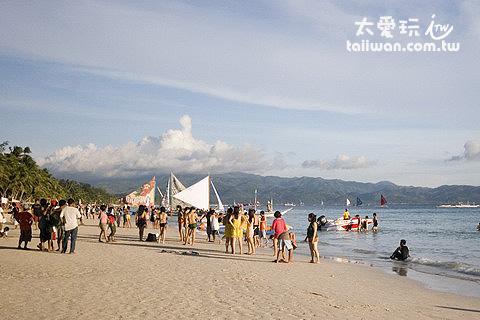長灘島白沙灘是我認為東南亞最美的海灘