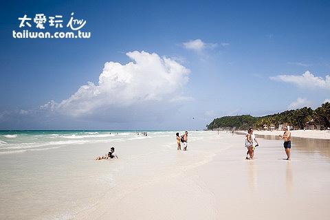 1號碼頭以北的沙子最細,海灘最美