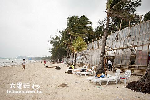 西南風的季節設置擋風牆