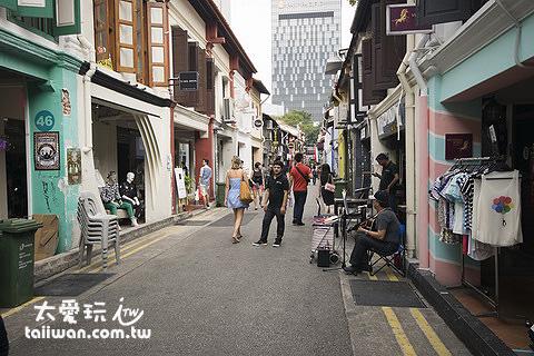 最愛的景點推薦Haji Lane哈芝巷