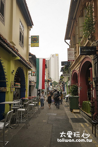 Haji Lane哈芝巷