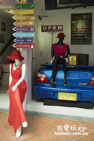 Haji Lane哈芝巷別具風格的特色小店