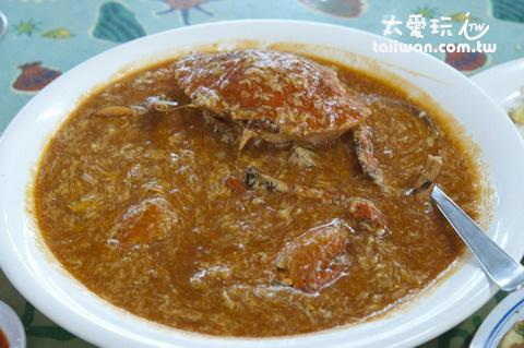 辣椒螃蟹美味無比