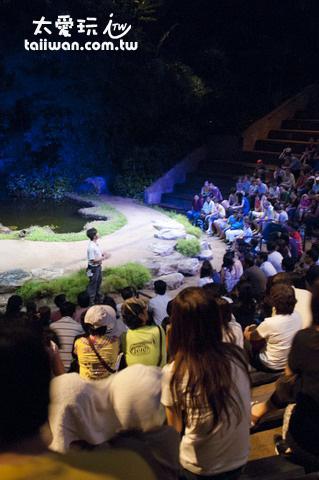 新加坡夜間動物園動物表演秀