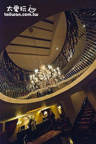 史閣樂精品飯店華麗的大廳