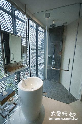 王子精品飯店房間浴室