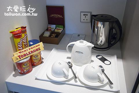 王子精品飯店房間茶具