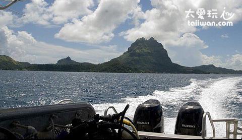 波拉波拉島潛水