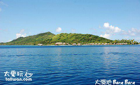 太平洋珍珠-波拉波拉島
