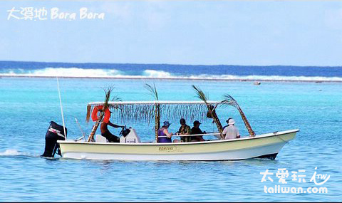 波拉波拉島Lagoon Tour