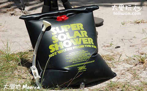 淋浴太陽能熱水袋