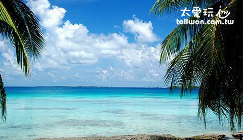 法卡拉瓦(Fakarava)環礁內海