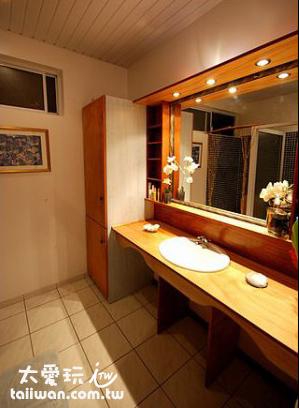Fare Suisse民宿雙人房浴室