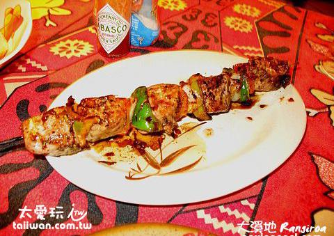 烤Tuna肉串