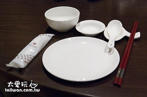 翠園餐廳餐具
