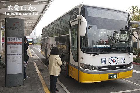 巴士候車站