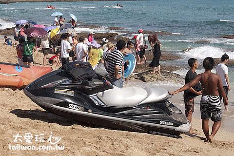 白沙海灘水上摩托車