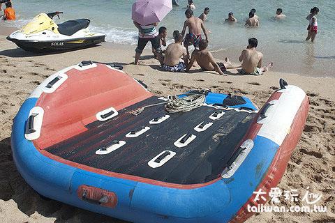 白沙海灘水上活動-海戰車