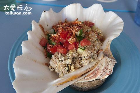 沙灘小酒館鮪魚海鮮炒飯