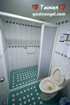 普羅館浴室非常小