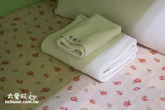 大阪六懶人館4人宿舍房毛巾