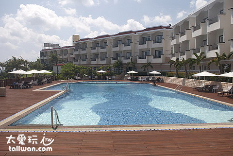 墾丁福容飯店泳池