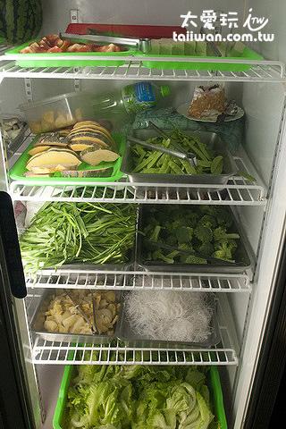各種新鮮蔬菜