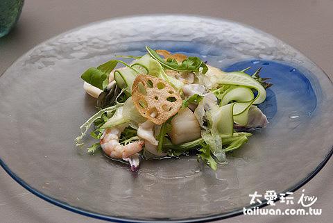 海鮮沙拉320