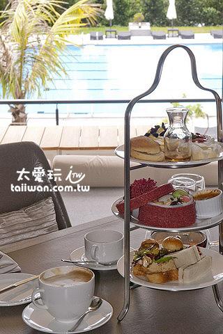 2013年的華泰瑞苑英式下午茶