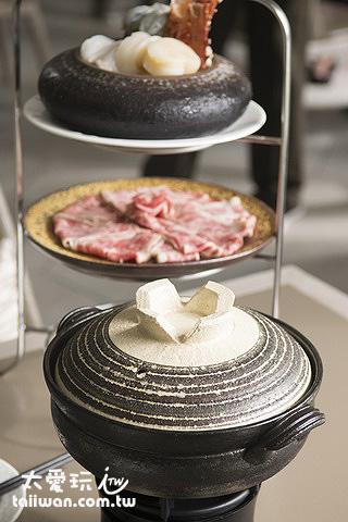 陶鍋煮火鍋也是一番樂趣