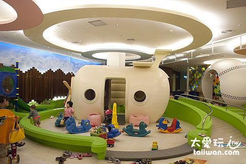 墾丁凱撒大飯店的兒童遊戲室