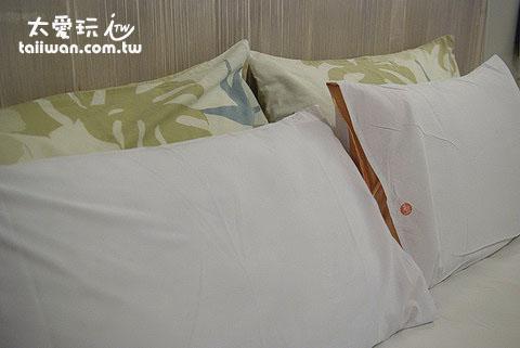 橘月的床墊枕頭都很不錯