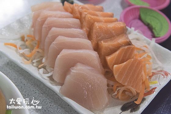 小盤綜合生魚片
