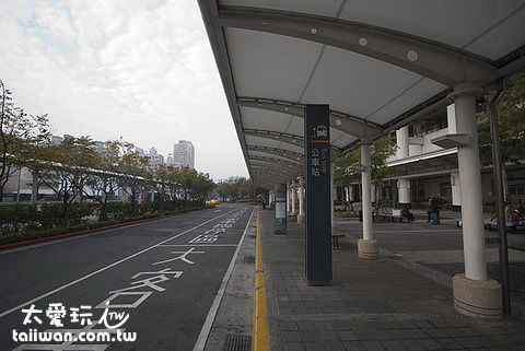 The bus station in THSR Zuoying Station