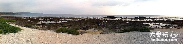 岩岸潮間帶