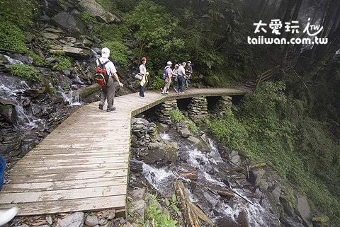 檜山巨木森林群步道瀑布