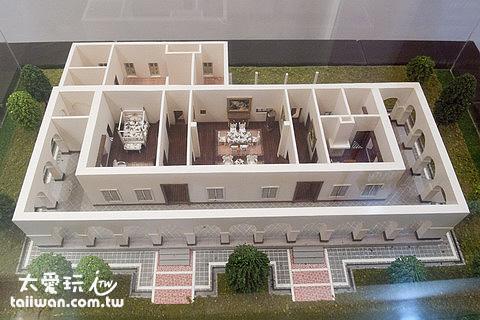 前清淡水總稅務司官邸模型