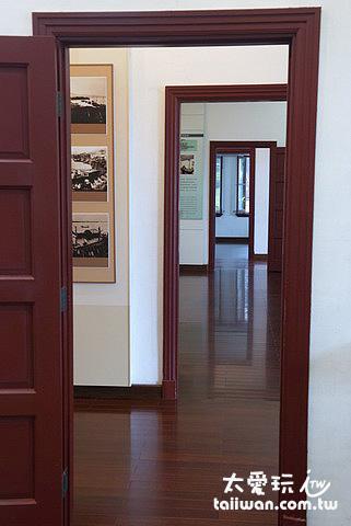 前清淡水總稅務司官邸室內展覽